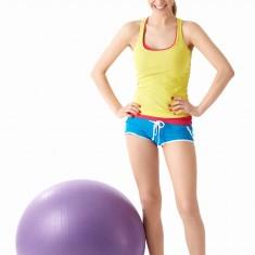 sport, ćwiczenia z piłką gimnastyczną
