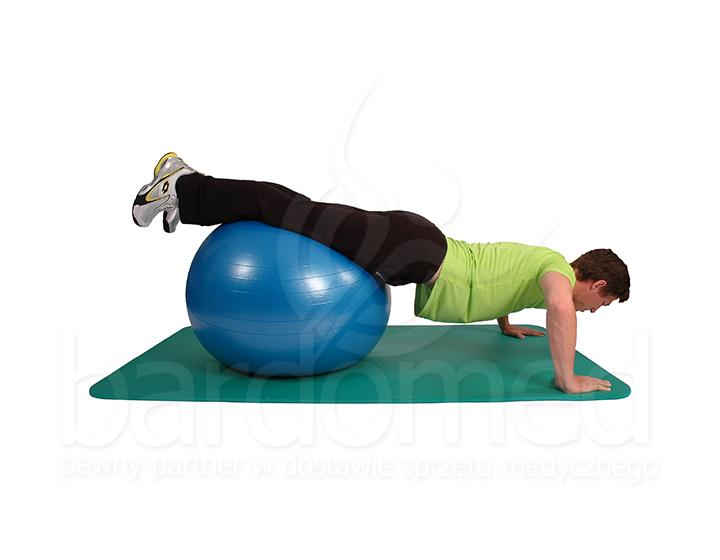 Ćwiczenia na piłce rehabilitacyjnej