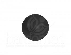 Piłka do ćwiczeń czarna, 85 cm z pompką